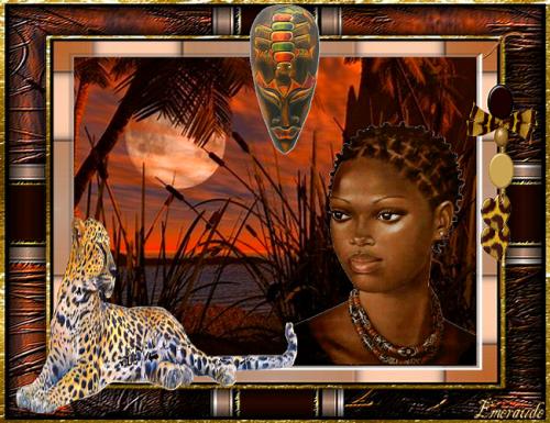 Défi du lundi , thème Afrique