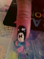 Nails Art PINGOUIN