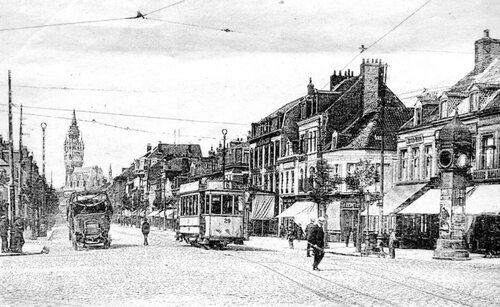 Pavés, rails, caténaires: le quotidien des Calaisiens il y a 100 ans