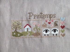 """Sal """"Printemps"""" de Jardin Privé 1."""