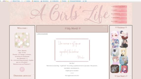 Nouveau Theme : Pink Brown