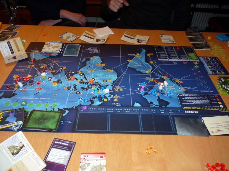 Pandémie Legacy (fin)