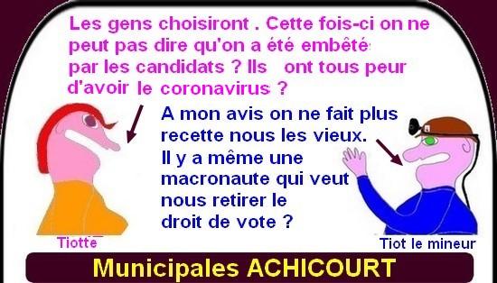 Municipales : à l'assaut d'ARRAS et d'ACHICOURT pour les macroncompatibles.