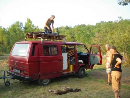 2éme étape : St paul Le Jeune, septembre 2012