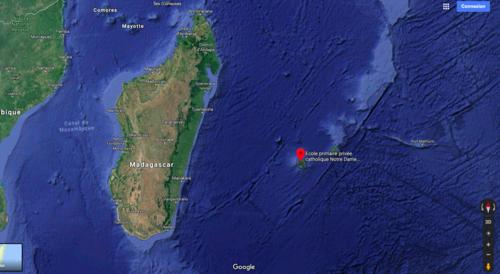 La zone Océan Indien