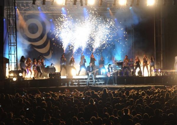 Festi-Beach: L'euphorie pour Star Académie