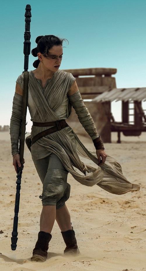 Le déguisement de Clara : Rey de Star Wars
