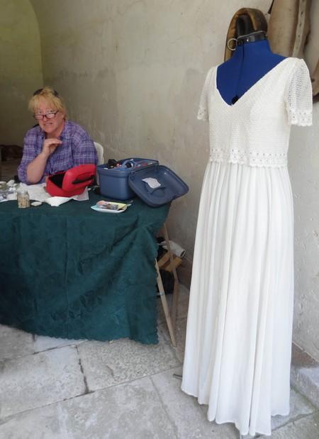 Elisabeth Nicvert, costumière à Montbard, a des doigts de fée !