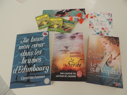 Box anniversaire Once upon a book