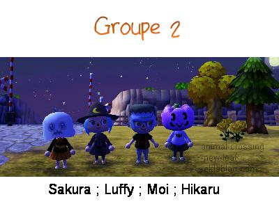 Halloween ; Groupe 2