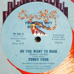 Funky Four - Do You Want To Rock (Before I Let Go)