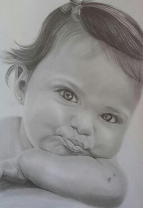 """Enfant faisant la """"moue"""""""