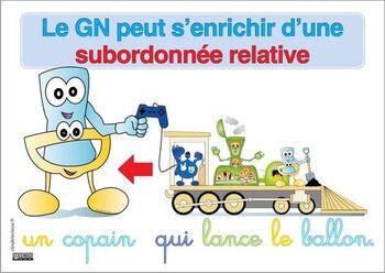 GN enrichi d'une subordonnée relative