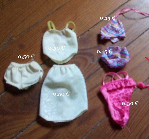 * Lingerie Maillots