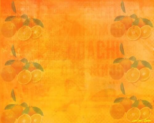 design fruits et oranges avec l'annuaire des nuls