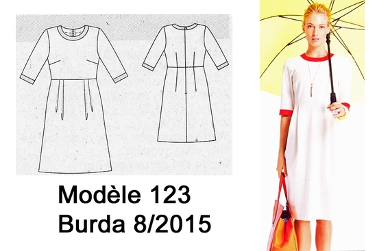 Modèle 123 Burda 8 -2015