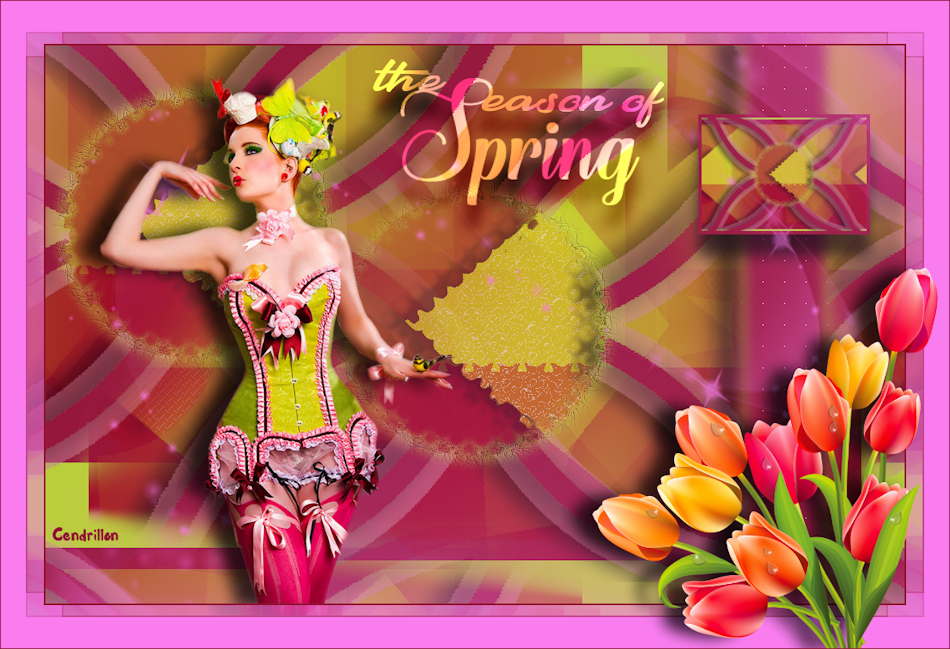 The season of spring - Creannie - Traduction Maidiregrafica