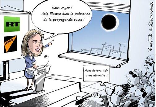 Le pouvoir de la propagande russe