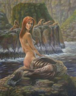 Sirènes et nymphes des eaux