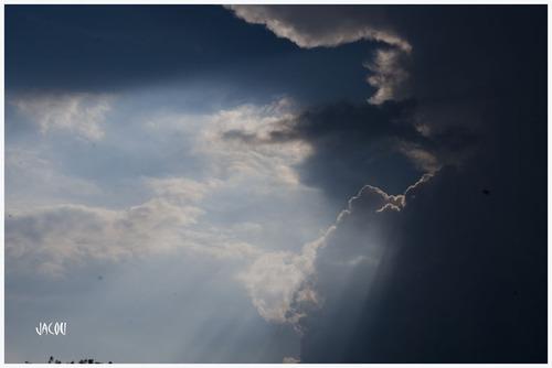 - Juste avant l'orage