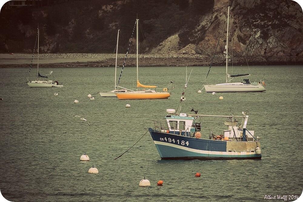 Bretagne - 9 août 2013 - Nous Crozon nos doigts pour qu'il fasse beau...
