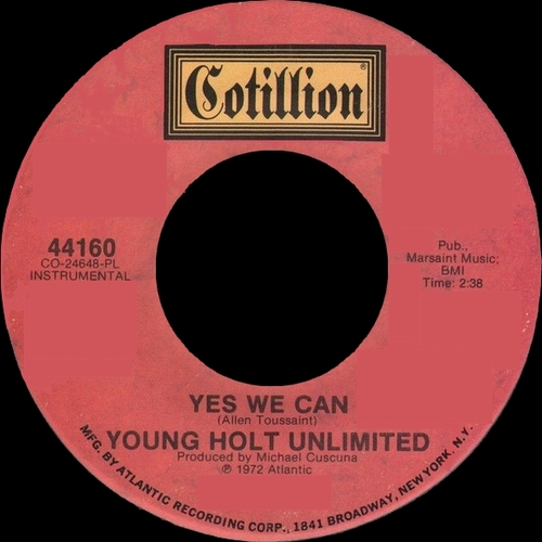 The Young-Holt Unlimited : Single SP Cotillion Records 45-44160 [ US ]