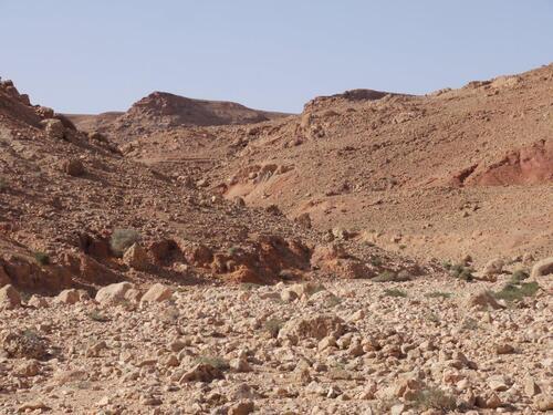 Le désert nous entoure