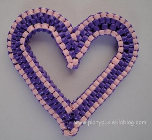 Je vous donne mon coeur platypus blog - Livre de scoubidou ...