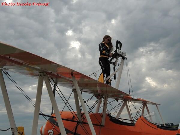 Le meeting du Centenaire de Meaux de  2016, vu par Nicole Prévost, passionnée d'aviation...