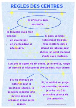 Centres - présentation