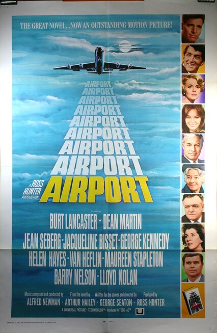 AIRPORT BOX OFFICE USA 1970