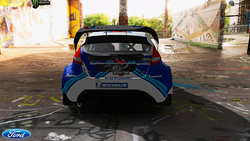 Team OMSE Ford Fiesta Colin MCRae