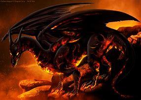 dragons de lave