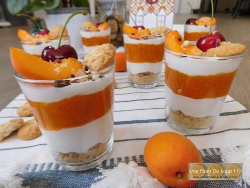 Trifle aux abricots