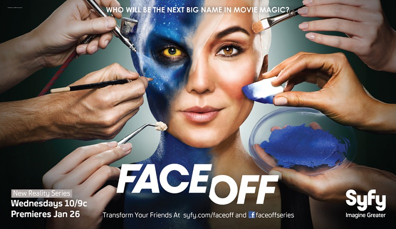 FACE OFF : l'émission qui me donne envie de rallumer la TV !