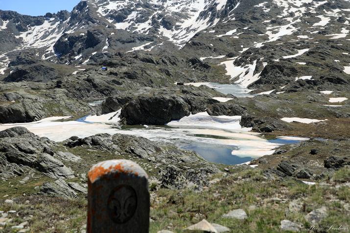 Entre Queyras et Piemont, frontière italienne