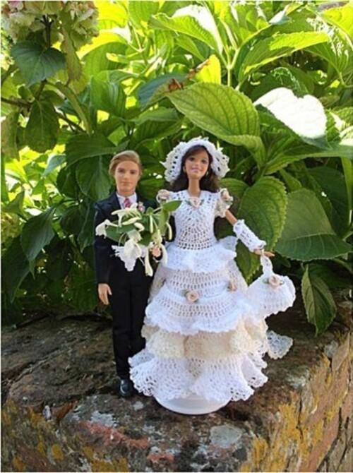 Défilé-Stylistes 2012 : barbie mariée (6)