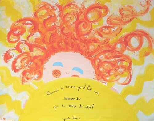 Tu es un soleil parmi d'autres soleils