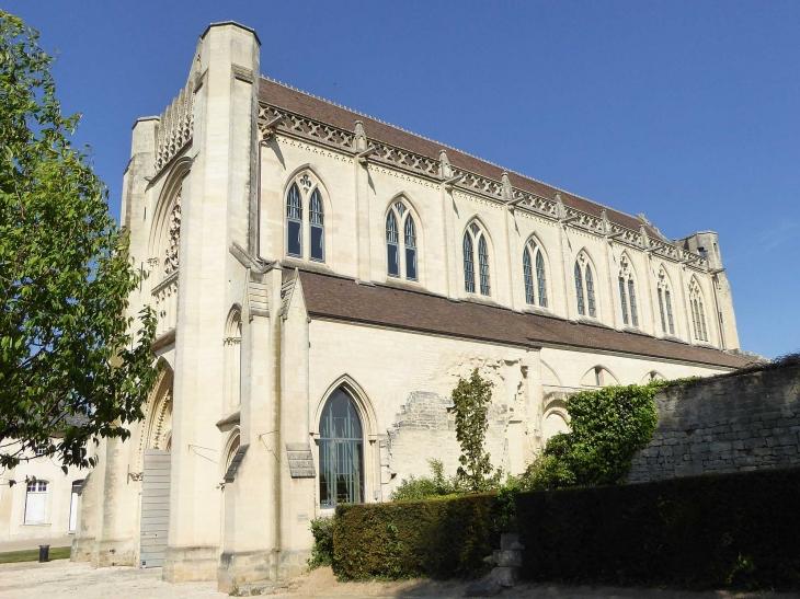 L'abbaye d'Ardenne : l'église abbatiale - Saint-Germain-la-Blanche-Herbe
