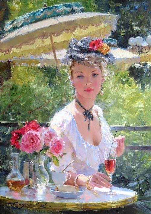 RAZUMOV, Konstantin, peintre impressionniste russe  (Art-Peintures)