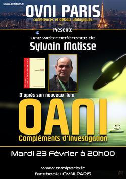 23 Février 2021 - Sylvain Matisse à Ovni Paris par zoom