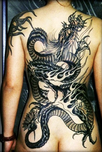 Dragon Tatoo L Antre De La Dragonne