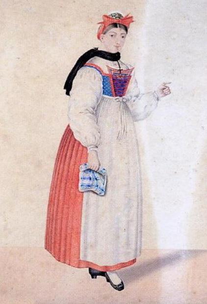Historique du costume