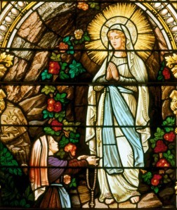 Our Lady of Lourdes marshall
