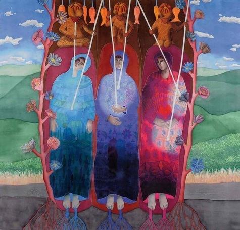 Autour du thème «Demain», Lumière de  conscience, par Sophie Berard.