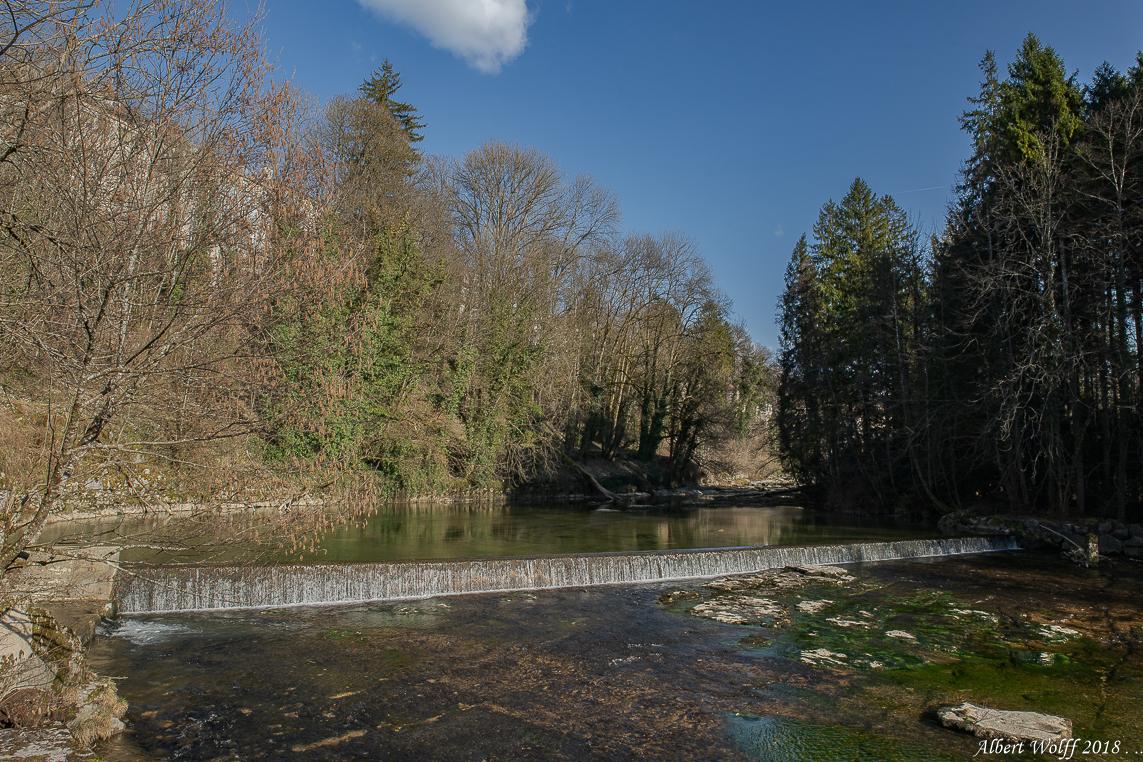 L'eau du Jura - Tiens, l'Ain dans le Jura