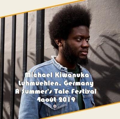 Live: Michael Kiwanuka - 4 Août 2019 - Luhmuehlen