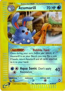 Azumarill Wizard of the Coast Aquapolis