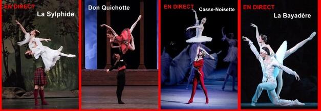 Le Ballet du Bolchoï au cinéma