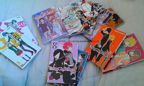 [01/2016] Achats Mangas #9
